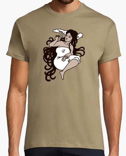Camiseta mucha de cannabis