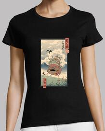 mudanza castillo ukiyo e camisa mujer