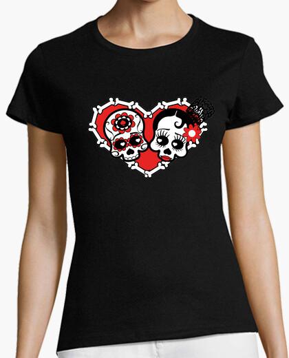 Camiseta Muertos de Amor color