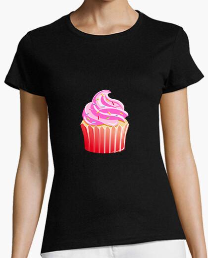 Camiseta Muffins de fresa