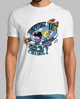 muffins del futuro por mr. tony - camiseta de hombre
