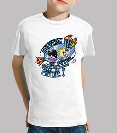 muffins del futuro por mr. tony - camiseta para niños