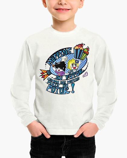 Ropa infantil muffins del futuro por mr. tony - camiseta para niños