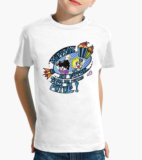 Vêtements enfant Muffins du Futur par Mr. Tony - T-SHIRT Enfant