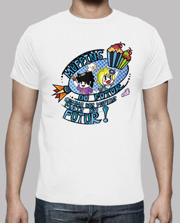 muffins of the future by mr. tony - men's t-shirt