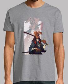 mugen. samurai dog