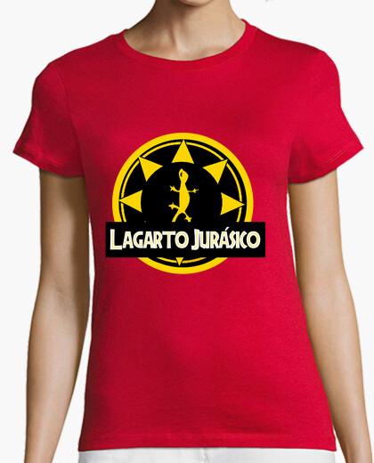 Camiseta Mujer - Lagarto Jurásico