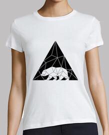 mujer - oso triangular