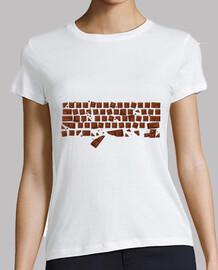 mujer - teclado chocolate