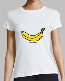 mujer - viernes plátano