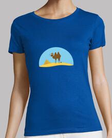 mujer de camellos