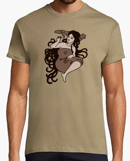 Camiseta mujer de cannabis
