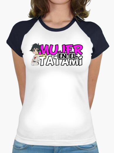 Camiseta Mujer en el Tatami 2