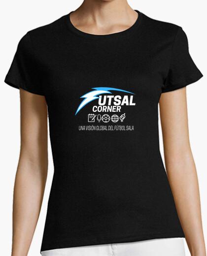 Camiseta Mujer eslogan m.corta
