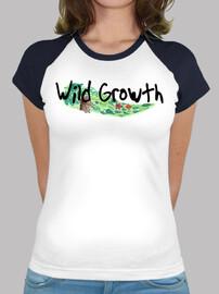 Mujer, estilo béisbol, Wild Growth