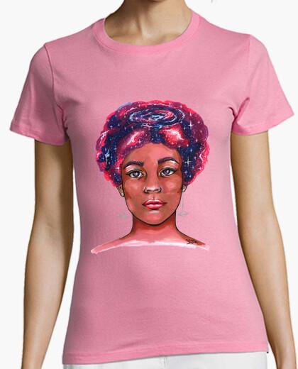 Camiseta Mujer galaxia
