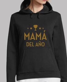 Mujer, jersey con capucha, Mamá