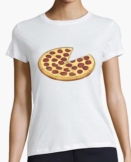 Camiseta Mujer, manga corta, blanca, calidad premium