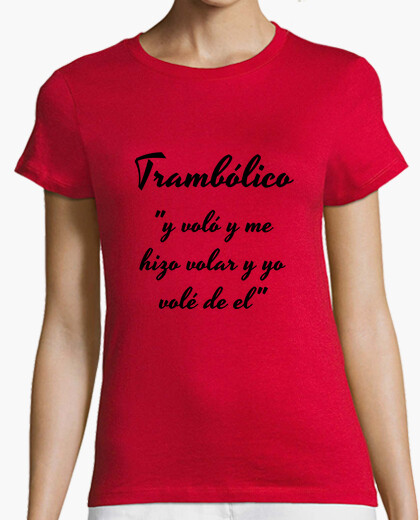 Women's shirt red trambolico