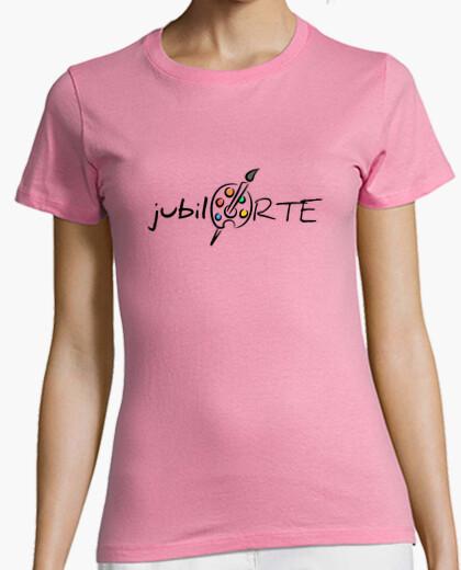 Camiseta Mujer, manga corta, rosa, calidad premium