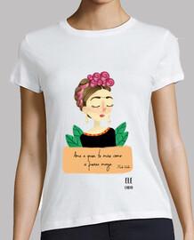 Mujer, manga corta,Frida Kahlo