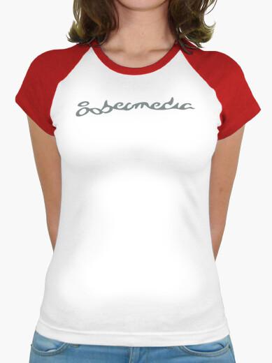 Camiseta Mujer, roja