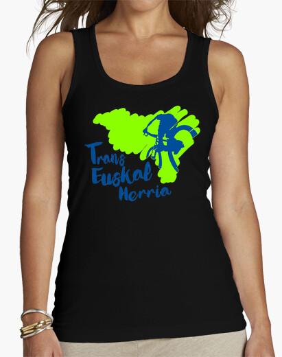 Camiseta Mujer, sin mangas, negra