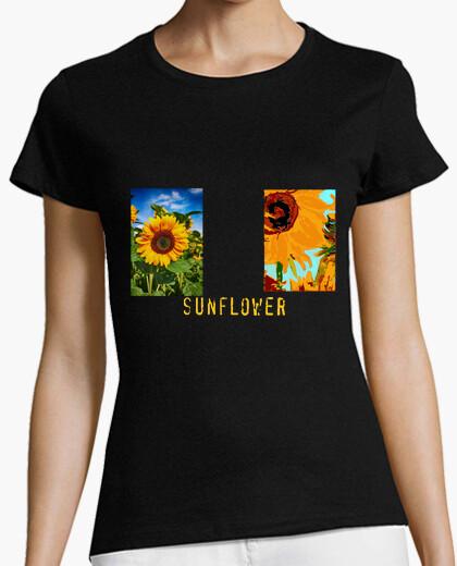 Camiseta mujer sunflower