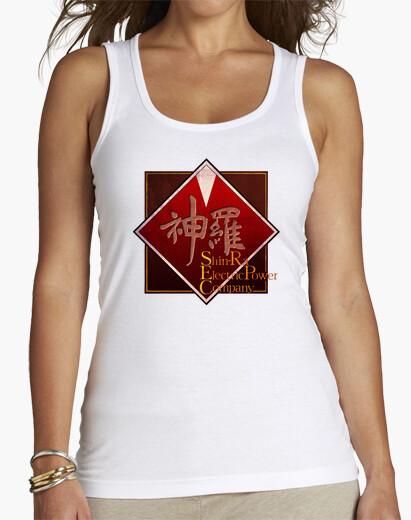 Camiseta Mujer, tirantes, blanco