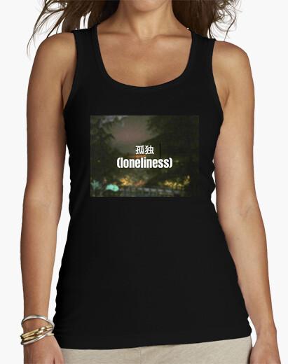 Camiseta Mujer, tirantes, negra