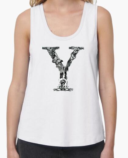 Camiseta Mujer, tirantes YOGA