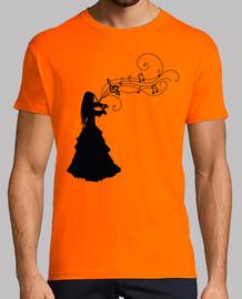 Mujer Violinista