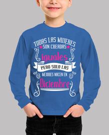 Mujeres iguales mejores diciembre niños