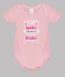 Mujeres Iguales Mejores Nacen Octubre bebe