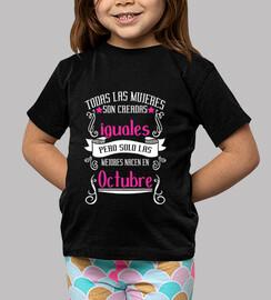 Mujeres Iguales Mejores Nacen Octubre niños