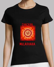 muladhara chakra-shirt  femme