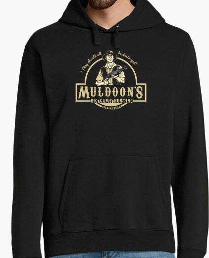 Muldoons big game hunting jurassic park hoody