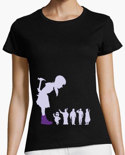 Camiseta Muller 02 - Malva - Camisola Muller