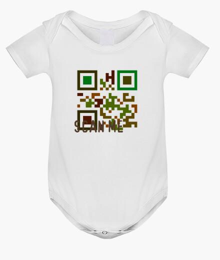 Multicolor transparent scan me kids clothes