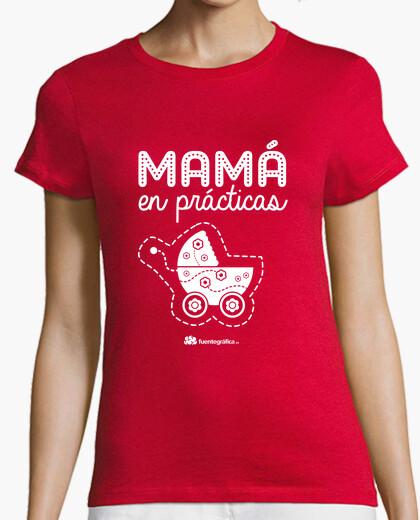 Mummy in practice t-shirt