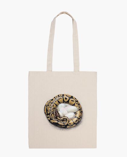 Mummy python bag
