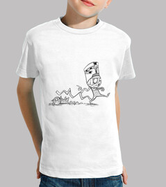 mummy with cat - children shirt