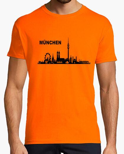 Camiseta München skyline