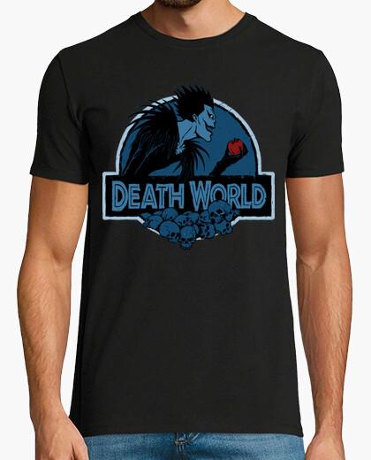 Camiseta mundo la muerte