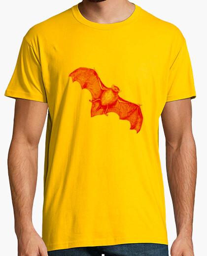 Camiseta Murciélago Rojo Transparente -Vampiro