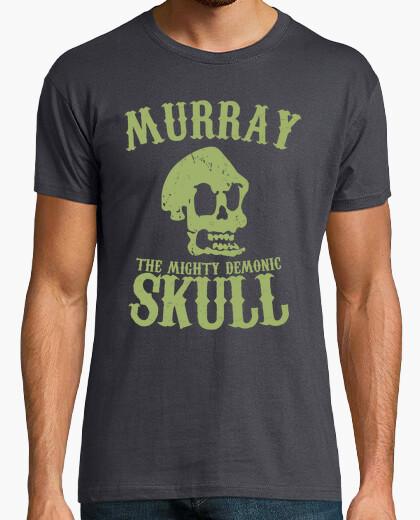 T-shirt murray il demoniaco possente skull