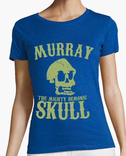 Tee-shirt murray le crâne démoniaque puissant