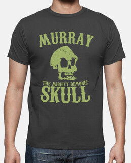 Murray the mighty demonic skull