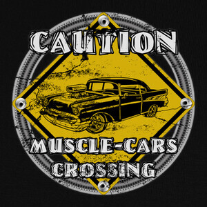 Camisetas Muscle-cars crossing