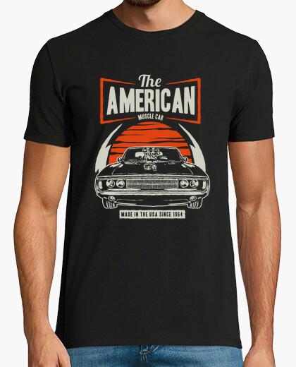 Tee-shirt muscle car américain